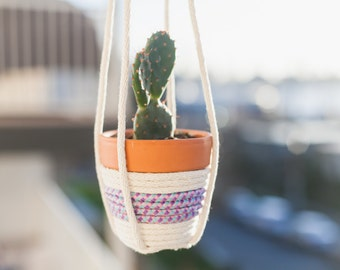 Cute Rope Hanging Planter