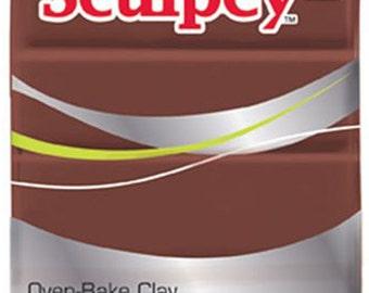 Sculpey® III Chocolate Oven-Bake Clay - 2oz Polymer Oven-Bake Clay - Chocolate 2oz Polymer Clay - Sculpting Clay - Oven-Bake Clay - 15-014