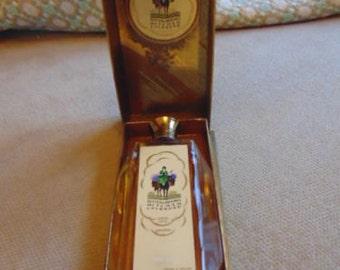 """VINTAGE 1935 King George V Silver Jubilee Potter & Moore """"Mitcham Lavender"""" Perfume Bottle"""