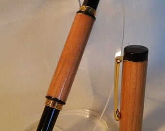 Cherry wood Fountain pen - Other woods available