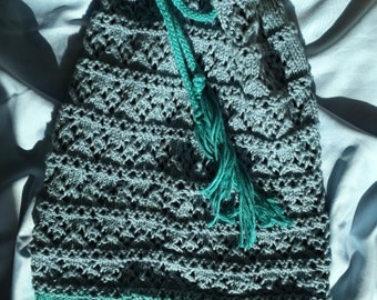 Lacy Slouch Hat / Cowl Convertible