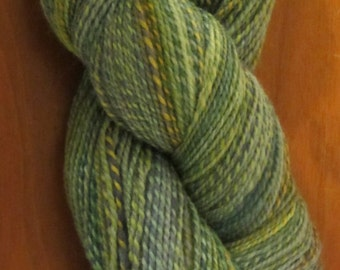 Dyed in the Wool from Spincycle Yarns - made in USA - super wash blue faced Leicester Wool
