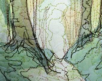 Light Woodland Path