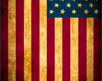 American Flag Rustic Vignet Cornhole Wrap Bag Toss Decal Baggo Skin Sticker Wraps