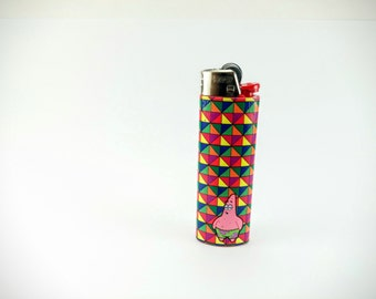 Patrick from Spongebob Squarepants Custom Lighter - Optical Illusion