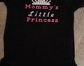 Mommy's little princess onsie
