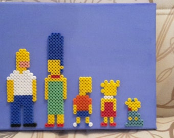 The Simpsons Canvas