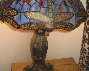 Tiffany-Style Dragonfly Lamp