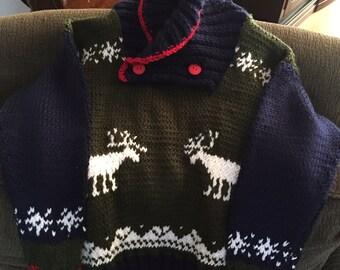Kalen's Reindeer Sweater