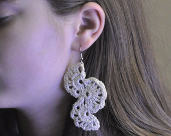 Crochet Wedge Earrings