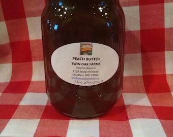 Peach Butter Farm Fresh Local Made Small Farm Product