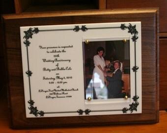 Wedding/ Anniversary Plaque