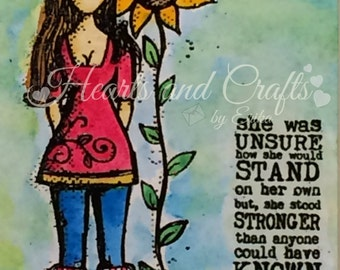 Stand Stronger - 8x10 Matted Water-colored Photo (MAT-WCP-0002)