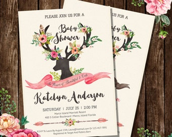 BabyShower Invitation Card