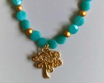 Beautiful Aquamarine Necklace