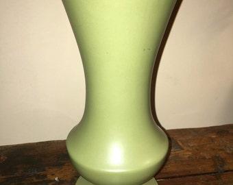 McCoy Olive Vase Floraline #401 Flower Vase