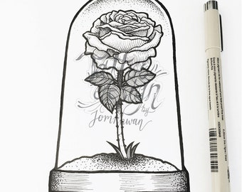 Tattoo Design by Jomkhwan - My Only Rose