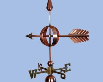 Copper Arrow Weathervane - BH-WS-103
