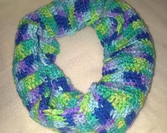 Multi Color Neck Wrap/Scarf