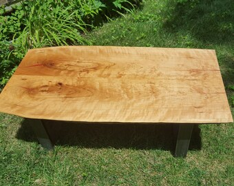 Cherry Slab Coffee Table