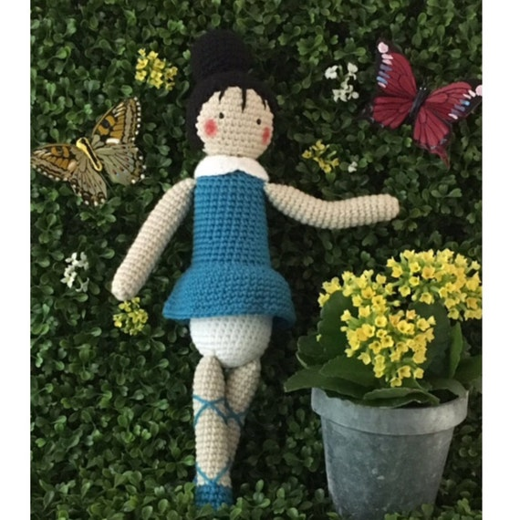 Amigurumi Ballerina Doll : Amigurumi Ballerina Doll by Pikitcreations on Etsy