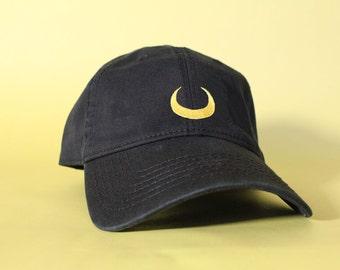 NEW Luna Baseball Hat Dad Hat Low Profile White Pink Black Casquette Embroidered Unisex Adjustable Strap Back Baseball Cap