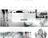 Responsive Wordpress Theme - Genesis Child Theme - Wordpress Template - Wordpress Blog - Blog Design
