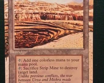 Strip Mine altered art card