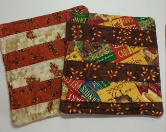 Hand Quilted Potholders