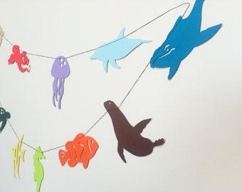 Sea Creature Garland / Finding Nemo Garland / Finding Dory Garland