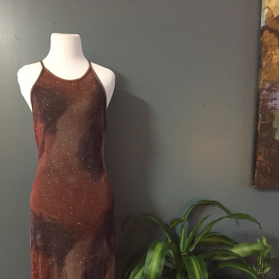 Glam Vintage Dress $24 at Thriftwood Vintage Size 6