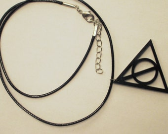 Deathly Hallow Earrings and Necklaces