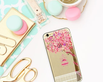 spring case, iPhone 5/5S/SE case, iPhone 6/6S case, transparent