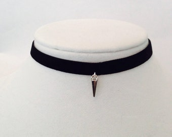 Black Spike Choker