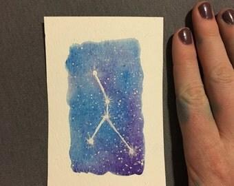 Zodiac Constellation Art: Cancer