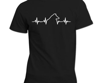 Collie heartbeat | Collie Shirt | Dog lovers gift idea | Collie dog | Heartbeat design | Collie Gift |