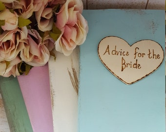 Advice For The Bride Wedding Guest Book