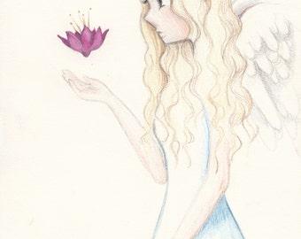Angel- Original Drawing