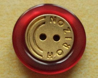 13 buttons 15mm dark red gold (5533)