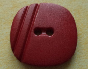 9 dark red buttons 22mm (1313) button Red