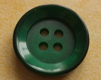 11 dark green buttons 20mm (15) button