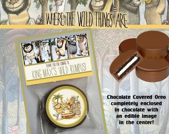 Where the Wild Things Are Chocolate Covered Oreo