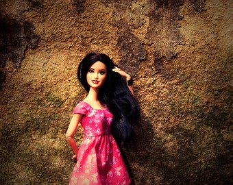 Barbie doll fashion photograph - digital download