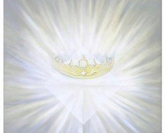 Original Oil Painting – Crowning the Light