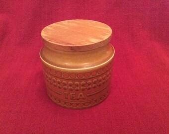 Hornsea Saffron Tea Storage Jar
