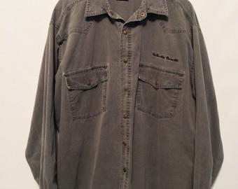 Vintage Grey Denim Shirt