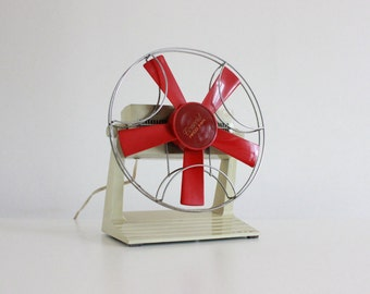 Vintage 70s Electric Fan