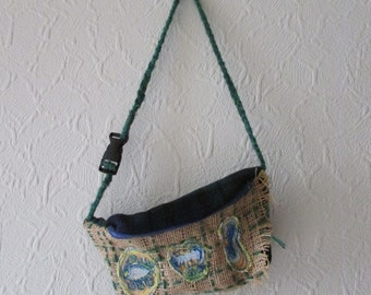Handmade Bum Bag 100% Recycled