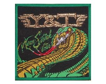 Y & T Mean Streak tour patch