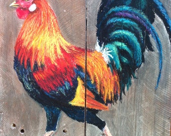 Garland's rooster